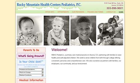 Rocky Mountain Health Centers Pediatrics