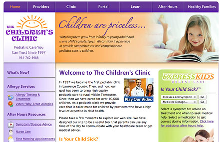 The Childrens Clinic PC